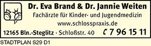 Brand, Eva, Dr. und Dr. Jannie Weiten