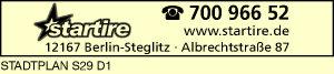 Startire PkW Reifenservice in Steglitz