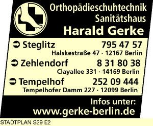 Gerke Sanitätshaus & Orthopädieschuhtechnik