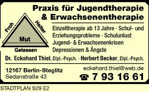 Becker, Herbert, Dipl.Psych. und Dr. Dipl.Psych. Eckehard Thiel