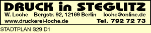 Druck in Steglitz W. Loche