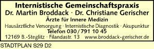 Broddack, Martin und  Christiane Gerischer, Dres.