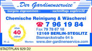 Der Gardinenservice, H.-J. Merten