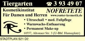 Logo von Kosmetikinstitut Nofretete