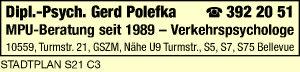 Polefka, Gerd Dipl.-Psychologe-Verkehrspsychologe