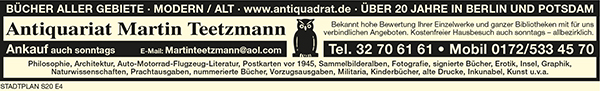 Antiquadrat Martin Teetzmann