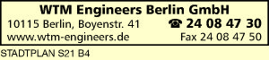 Logo von WTM Engineers Berlin GmbH