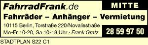 Fahrradfrank, Frank Gratz