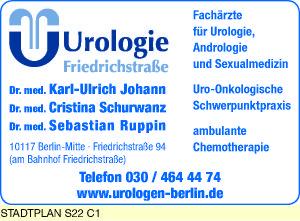 Johann, Karl-Ulrich, Dr. med. und Dr. med. Cristina Schurwanz