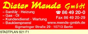 Mende GmbH, Dieter