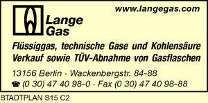 Logo von Lange Gas