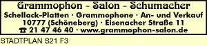 Grammophon-Salon Schumacher
