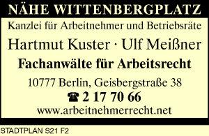 Kuster Hartmut Und Ulf Meißner 10777 Berlin Schöneberg