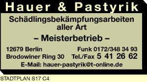 Hauer & Pastyrik