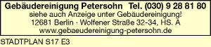 Gebäudereinigung Petersohn