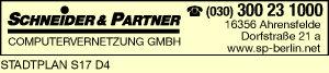 Logo von Schneider & Partner Computervernetzung GmbH