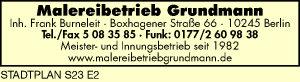 Grundmann - Inh. Frank Burneleit