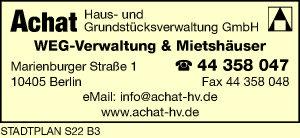 Achat Haus- und Grundstücksverwaltung GmbH