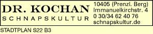 Logo von Dr. Kochan Schnapskultur