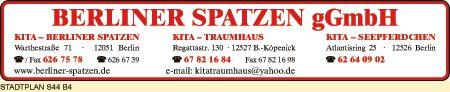 Berliner Spatzen gGmbH, Kita Traumhaus