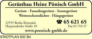 Gerüstbau Heinz Pönisch GmbH