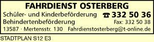 Fahrdienst Osterberg
