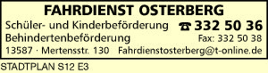 Logo von Fahrdienst Osterberg