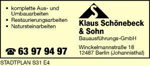 Schönebeck & Sohn Bauausführungs-GmbH