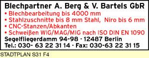Blechpartner A. Berg & V. Bartels GbR