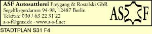 ASF Autosattlerei Freygang & Rostalski GbR