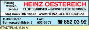Logo von Oestereich - Elektrotechnik