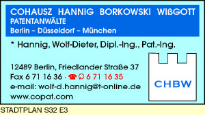 Cohausz, Hannig, Borkowski, Wißgott