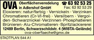 OVA Oberflächenveredelung in Adlershof GmbH