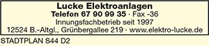 Lucke Elektroanlagen