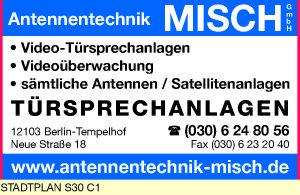 Antennentechnik Misch Nachfolge Gmbh 12103 Berlin Tempelhof