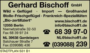 Logo von Bischoff GmbH Gerhard