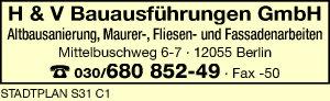 H & V Bauausführungen GmbH