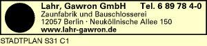 Lahr, Gawron GmbH