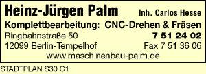 Palm, Heinz-Jürgen, Inh. Carlos Hesse