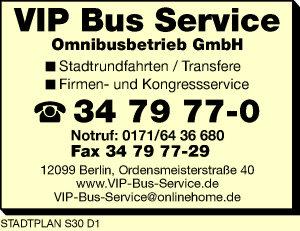 VIP Bus Service Omnibusbetrieb GmbH