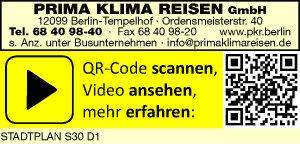 Logo von Prima Klima Reisen GmbH