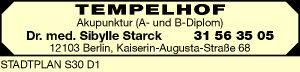 Logo von Starck Sibylle Dr. med.