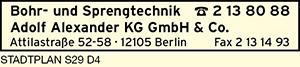 Bohr- und Sprengtechnik Adolf Alexander KG GmbH & Co.