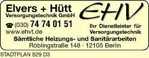 EHV Elvers + Hütt Versorgungstechnik GmbH