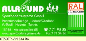 Logo von Allround Sportbodensysteme GmbH