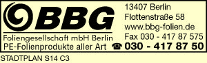 BBG Foliengesellschaft mbH Berlin