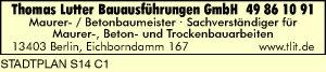 Thomas Lutter Bauausführungen GmbH