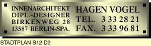 Logo von Vogel Hagen Dipl.-Designer