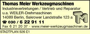 Logo von Meier Thomas