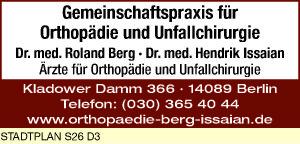 Berg, Roland, Dr. med. und Dr. med. Hendrik Issaian